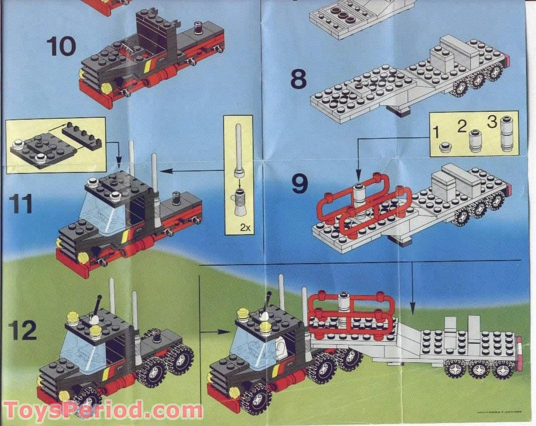classic lego instructions stunt 39 copter 39 n 39 truck free. Black Bedroom Furniture Sets. Home Design Ideas