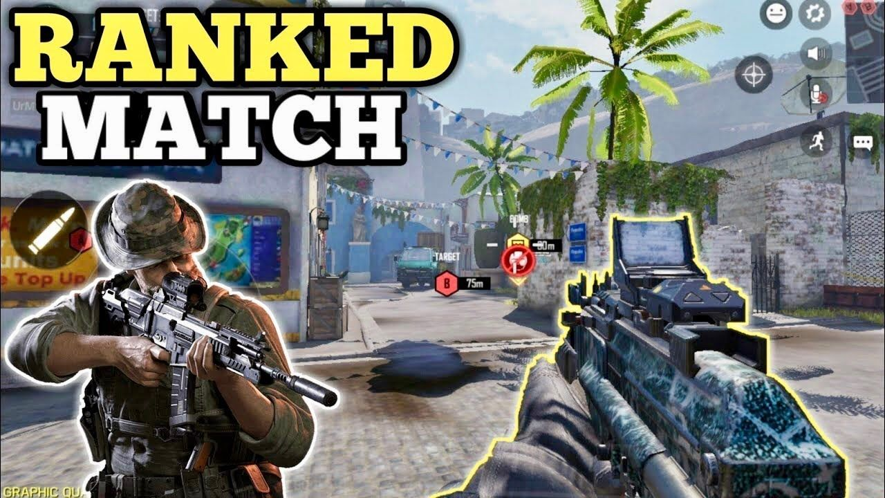 Call Of Duty Mobile Ranked Match Cod Gameplay Ios Android