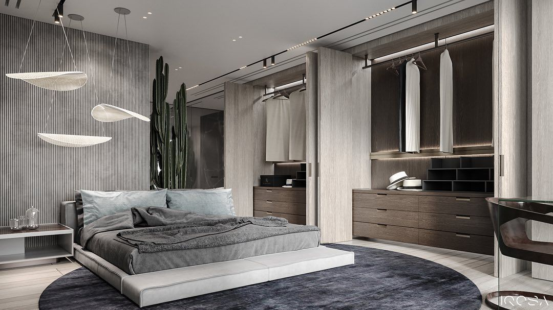 Iqosa On Instagram Stylish Light And Airy Bedroom In Our Project Of An Apartment In Mercury Cit Luxury Apartments Interior Interior Design Stylish Apartment