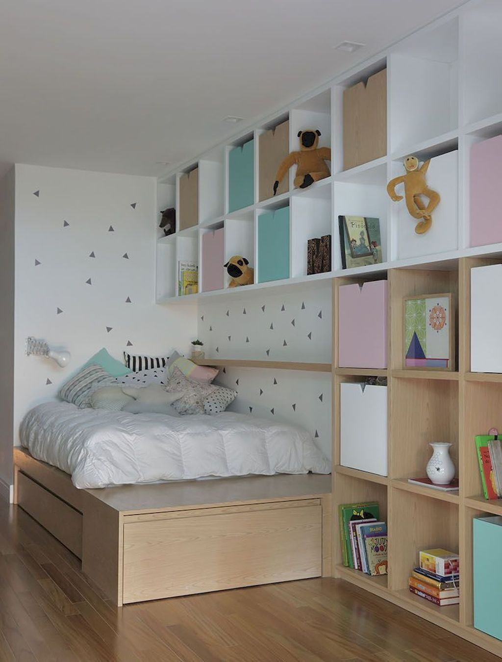 Tiny Box Room Ikea Stuva Loft Bed Making The Most Of Small Bedroom Space Great Under Bed Storage Kids Bedroom Space Box Room Bedroom Ideas Stuva Loft Bed