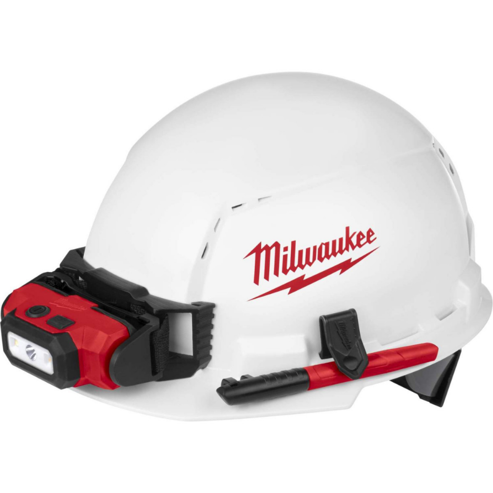 Milwaukee 48 73 1000 Front Brim Vented Hard Hat With Bolt Accessories Type 1 Class C Milwaukee Tools Milwaukee Power Tools Hard Hats