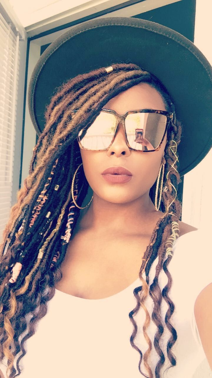 Faux locs goddess locs colors protective styles