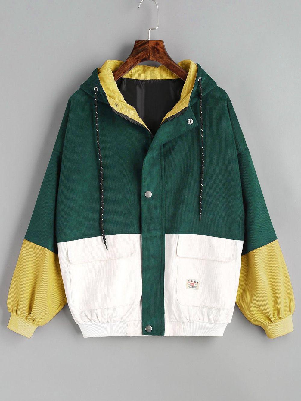 Enthusiastic Vintage Color Block Jacket Streetwear Windbreaker 2018 New Design Hip Hop Outwear Skateboard Jackets Zipper Korean Street Style Men's Clothing
