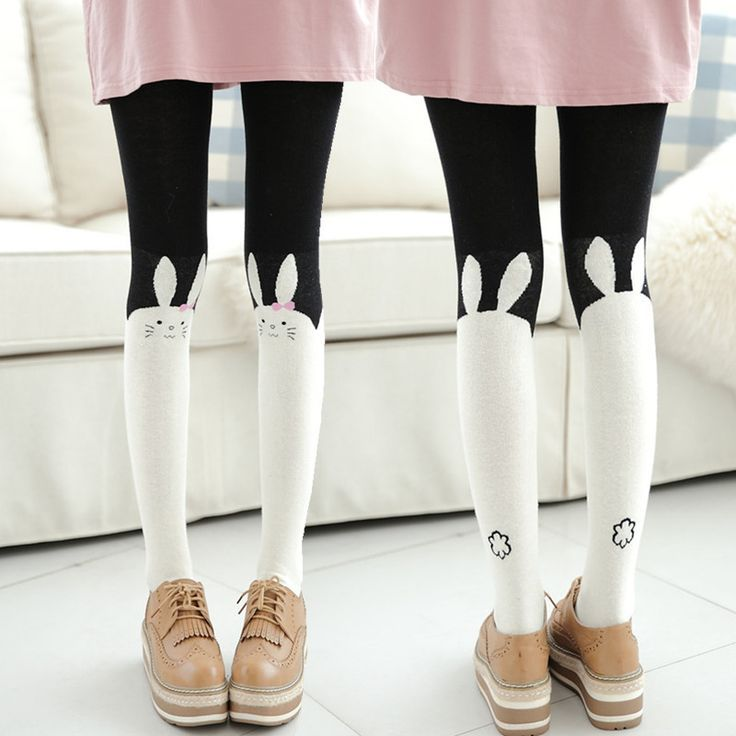 973b3ab6266 Cute rabbit cotton pantyhose leggings sold by Harajuku fashion. Shop more  products from Harajuku fashion on Storenvy