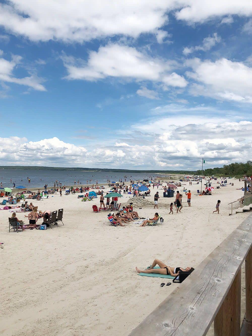 Grand Beach Manitoba Summer In