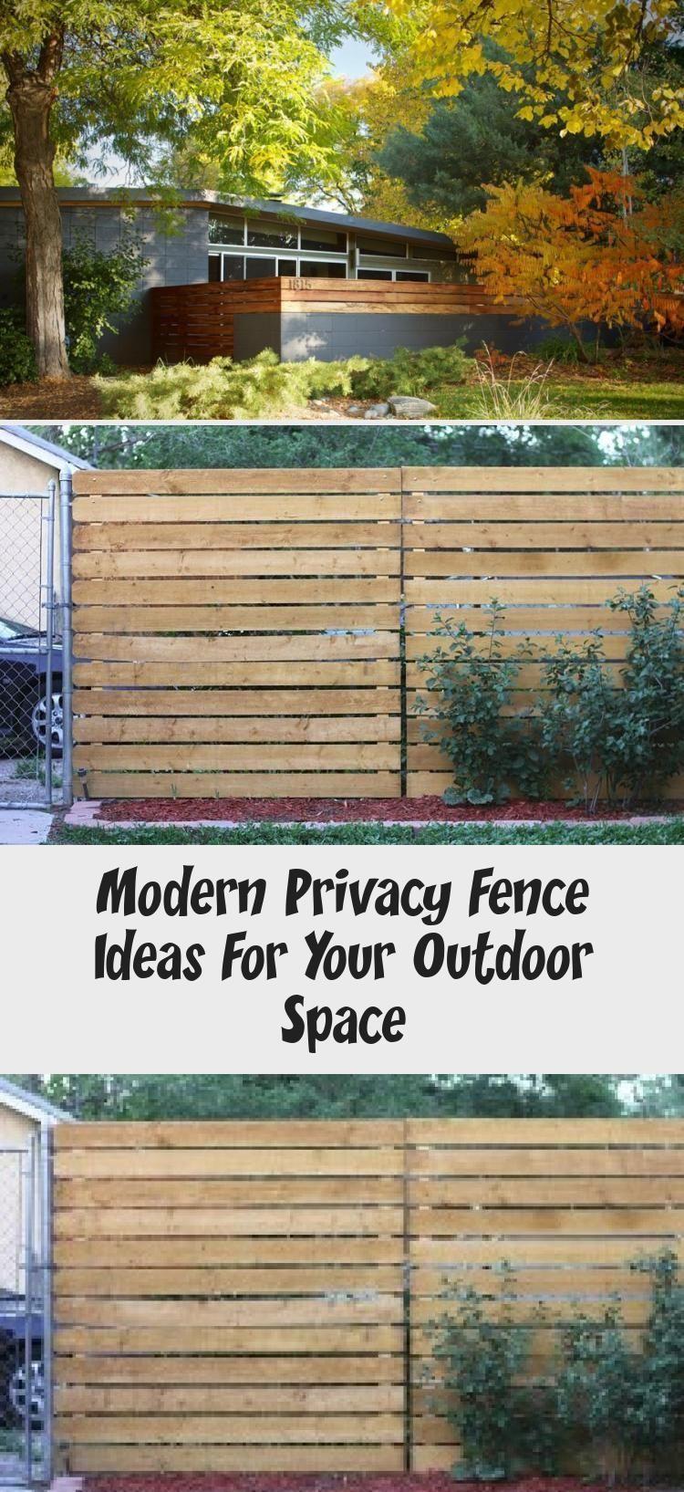 Ideen Fur Moderne Sichtschutzzaune Fur Ihren Aussenbereich Fence