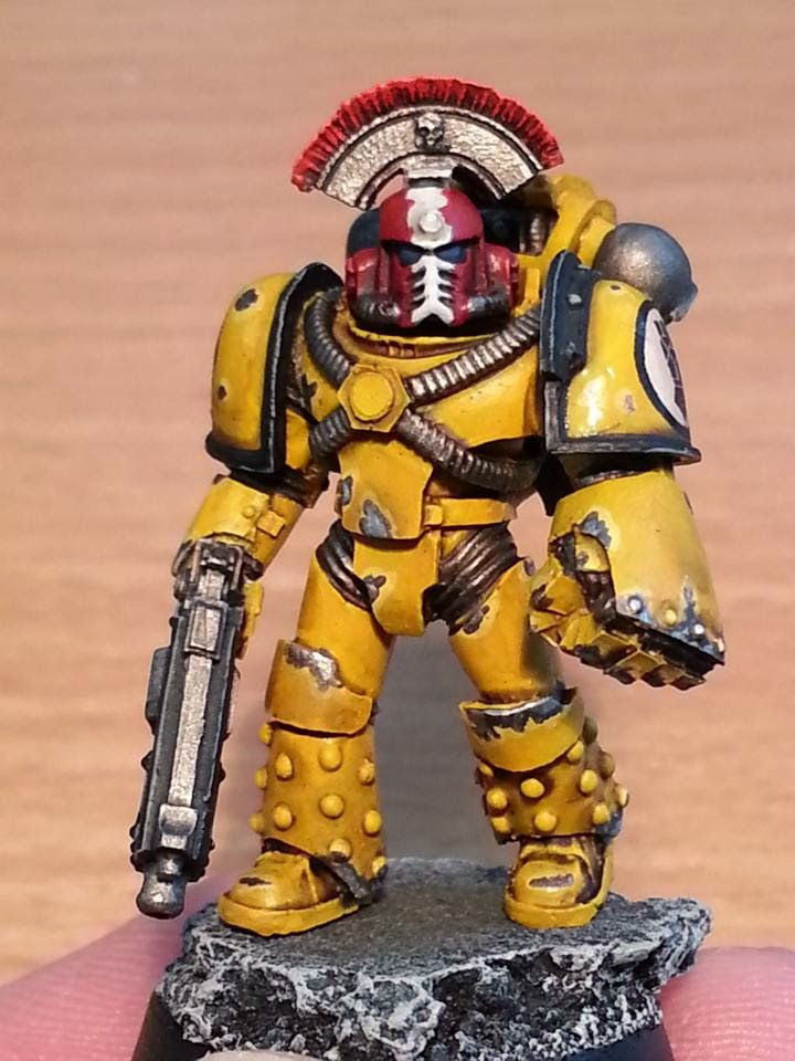Spikey bits warhammer 40k fantasy conversions and painted miniatures real centurion army of - Imperial fists 40k ...