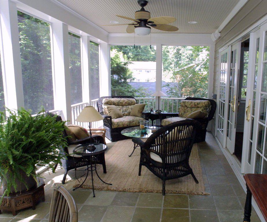 screened-in porch - Kris Konstruction