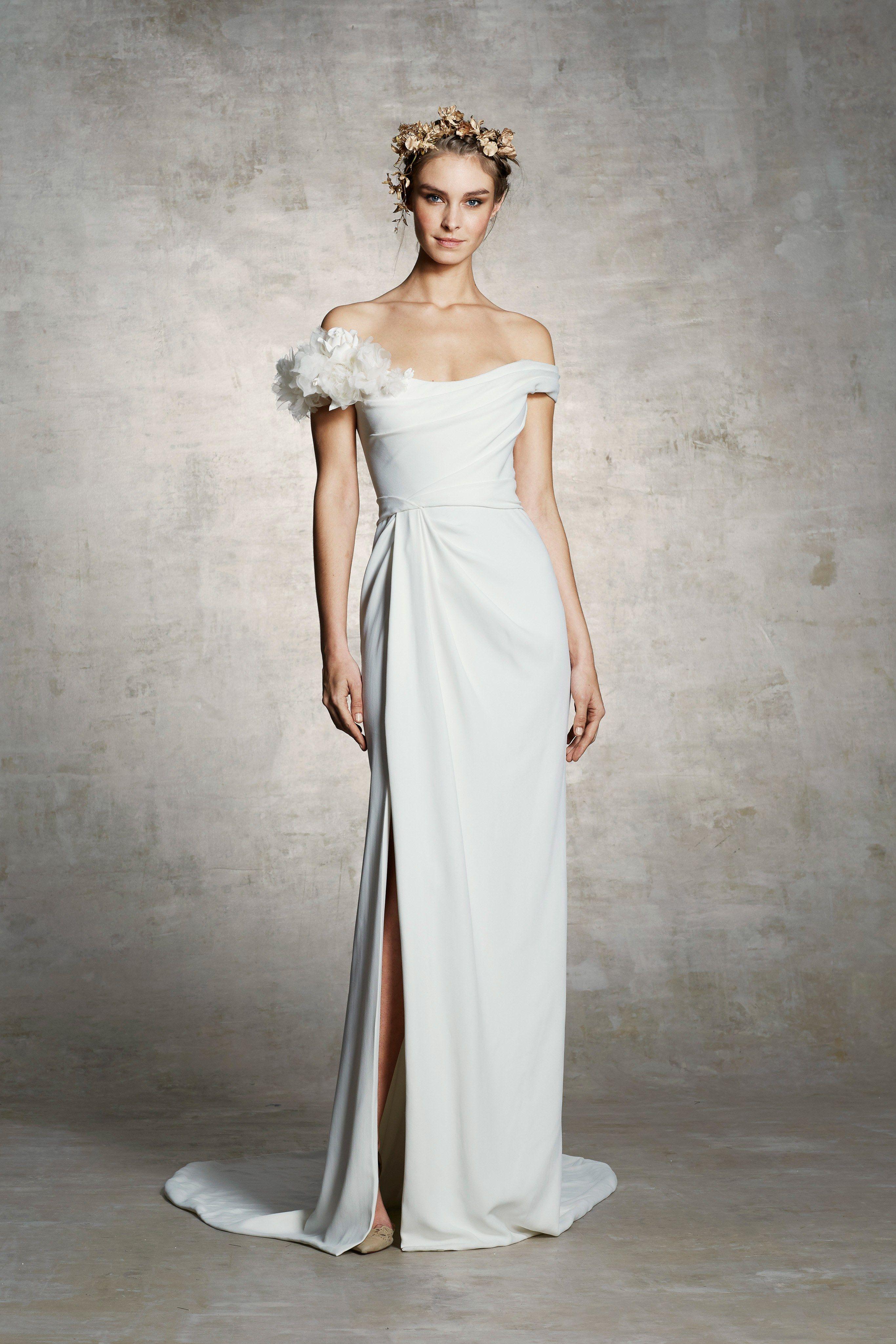 Marchesa bridal spring fashion show in bridal spring