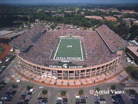 Spartan Stadium Stadium Michigan State Michigan State University