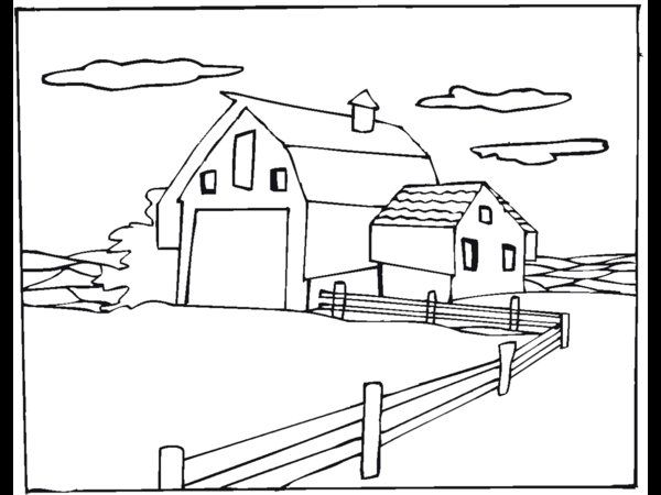 Farm Animal Coloring Pages Picture 14 – Free Farm Animal Coloring ...