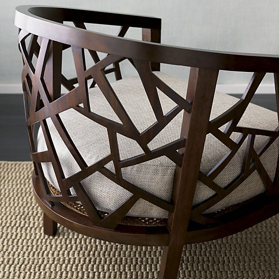Ankara Chair With Cushion In Chairs Crate And Barrel With