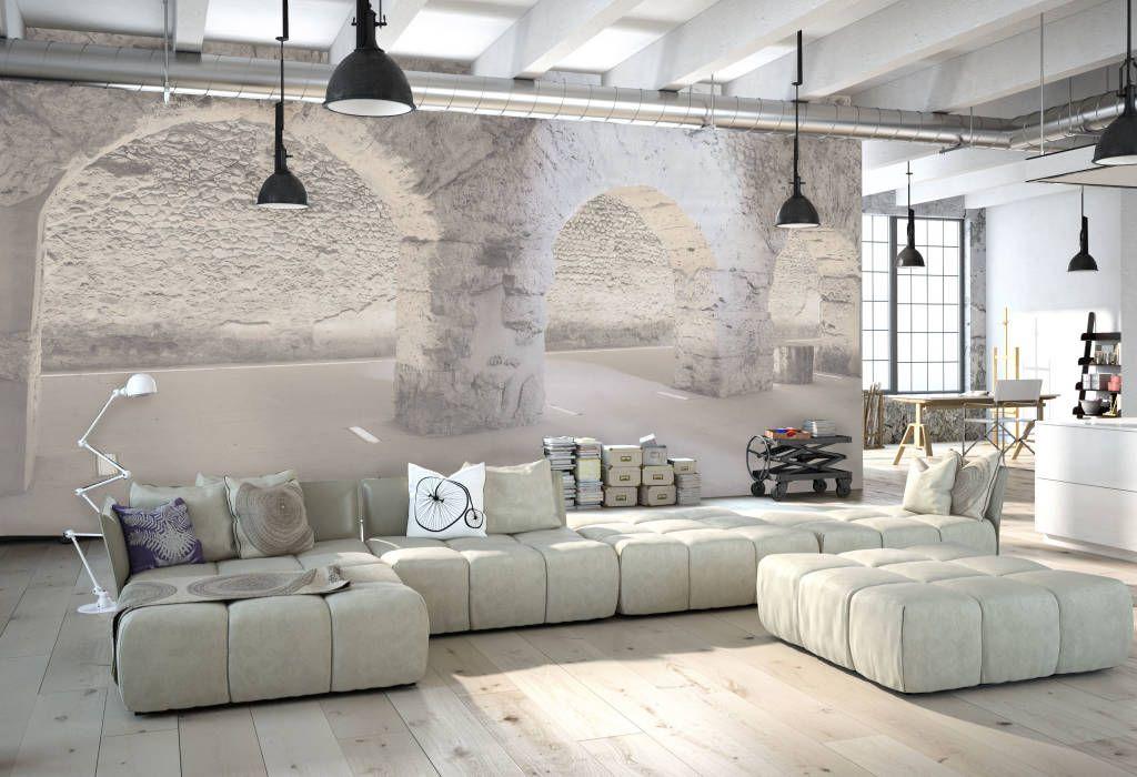 Cave pareti & pavimenti eclettiche di creativespace