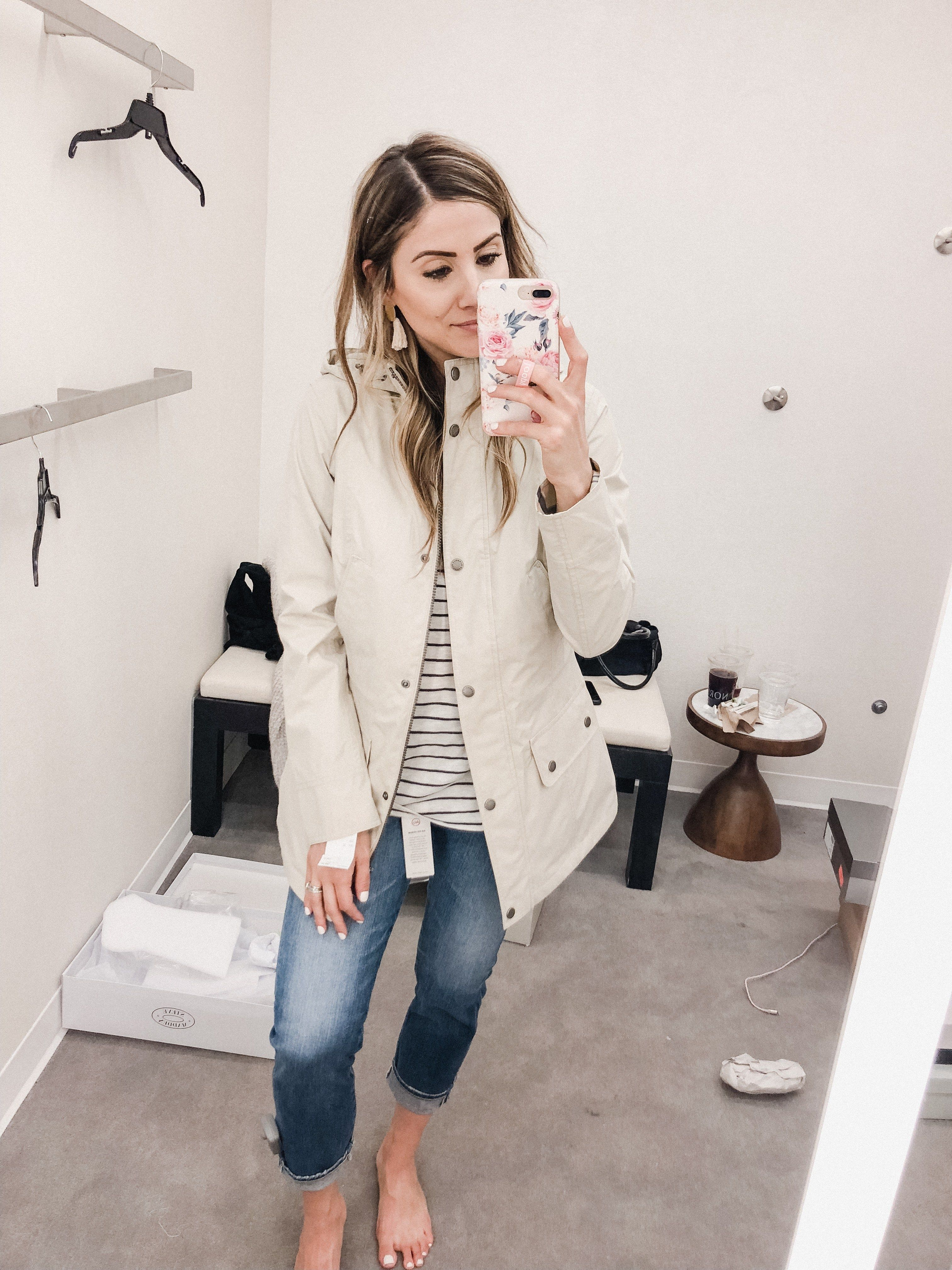 f91457f6536 Life and style blogger Lauren McBride shares her fitting room try-on  session for the Nordstrom Anniversary Sale 2018.