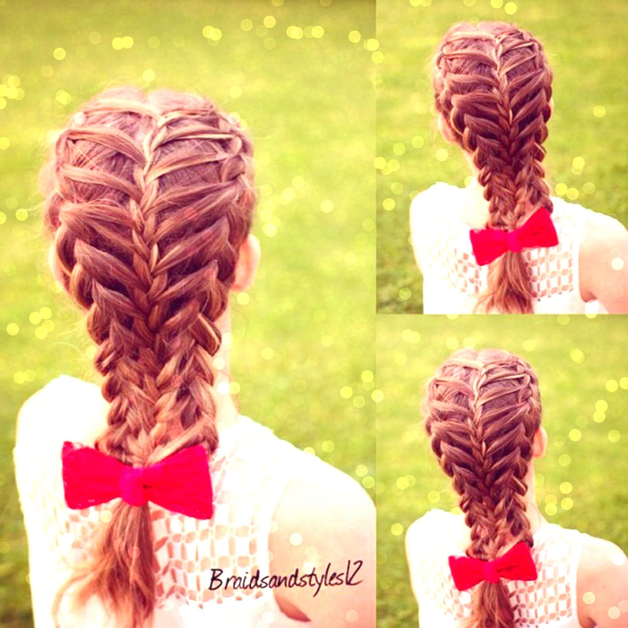 Feathered Dutch Braid Hair Tutorial On Yourself Braided