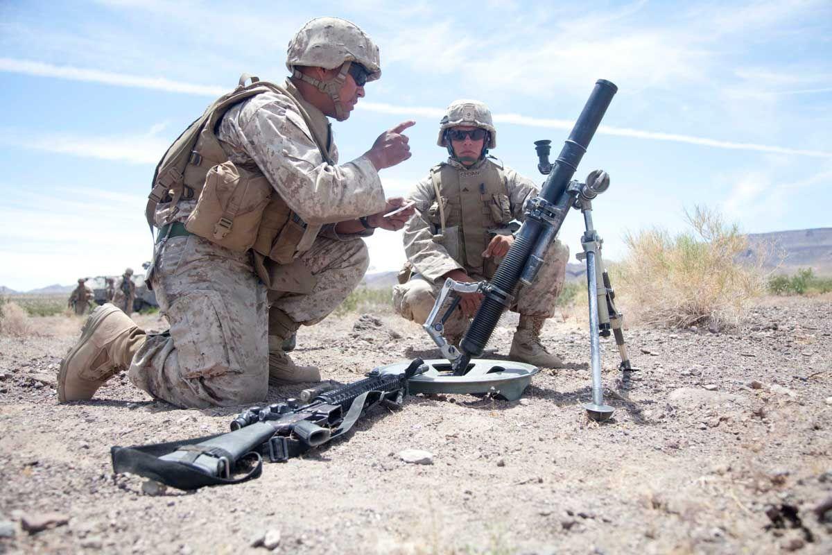 M224 60mm Mortar 0 Weapons Modern Warfare Marines