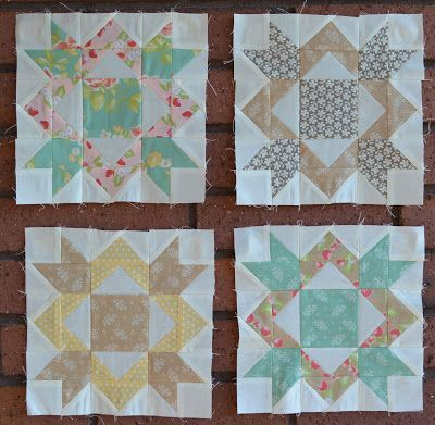 Yesterday was the 15th and you know what that means. Another Crossroads block!!! I am super happy to share the fourth set of theCrossroads Quilt Alongblocks. This month it is the Family Block and