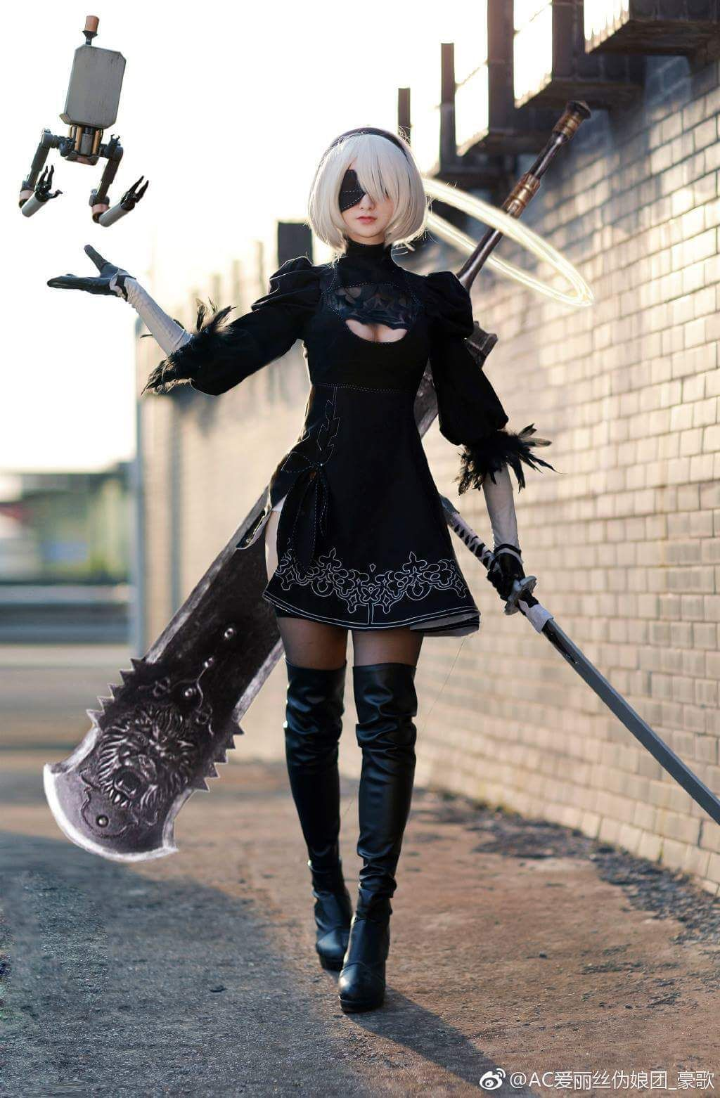 Photo of One of the Best 2B Cosplays Was Done by a Guy – The Fanboy SEO