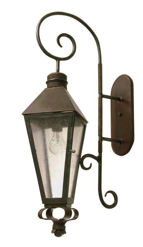 Gas Lamp Style Lantern Dunstanburgh Castle Ls112
