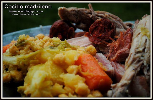 Cocido madrileño.  (a mi manera....)    http://tererecetas.blogspot.com.es/2013/03/cocido-madrileno-mi-manera.html