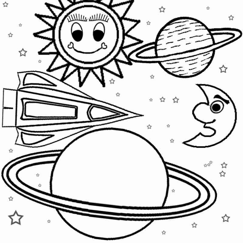 Outer Space Coloring Sheets Fresh Free Coloring Pages