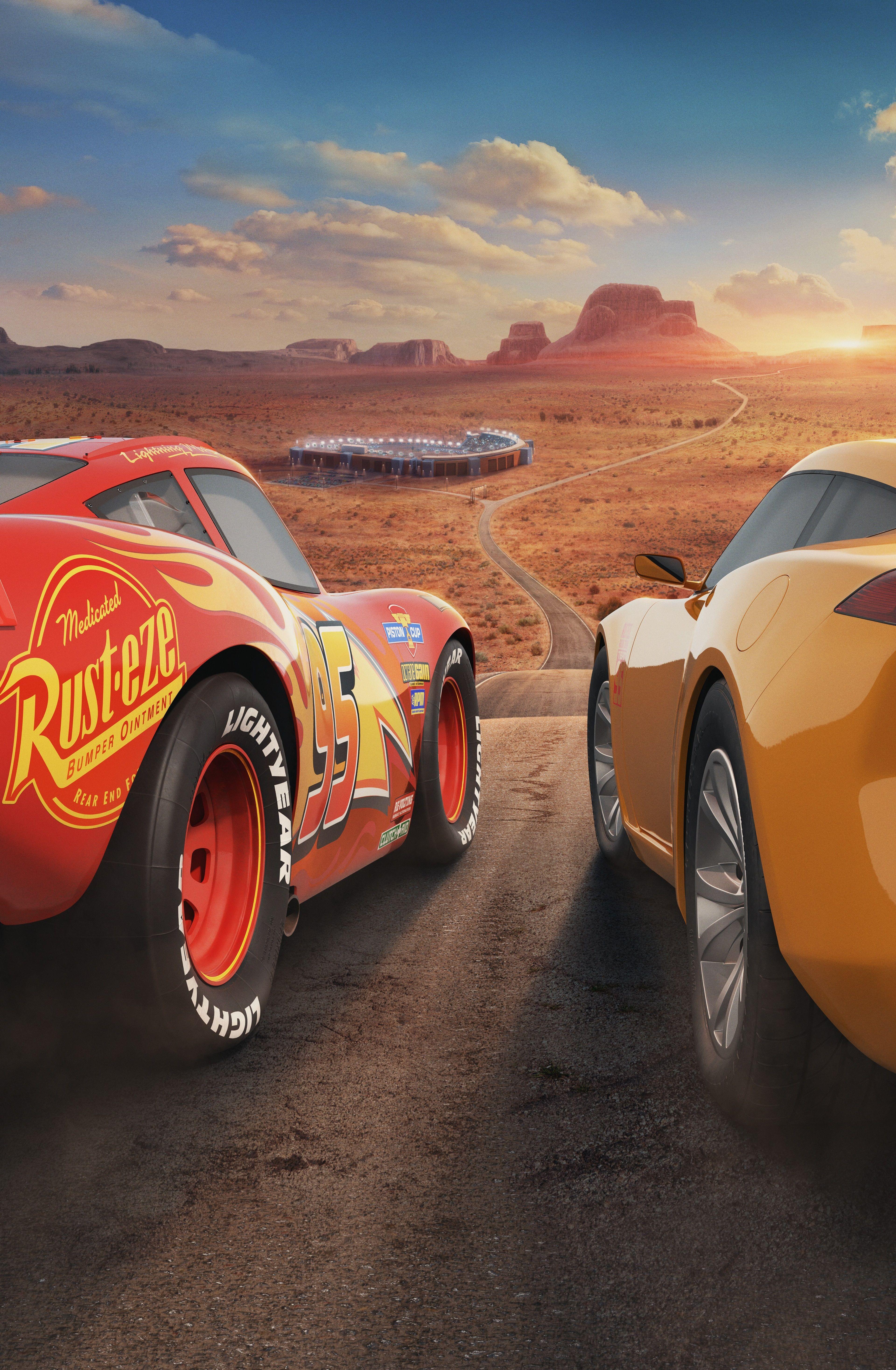 3840x5869 cars 3 4k desktop wallpaper hd Disney cars
