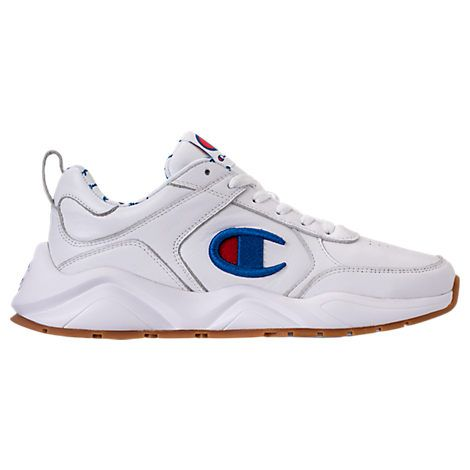 the latest 12d81 6842c CHAMPION MEN S CHAMPION 93EIGHTEEN LEATHER EMBROIDERY CASUAL SHOES.   champion  shoes