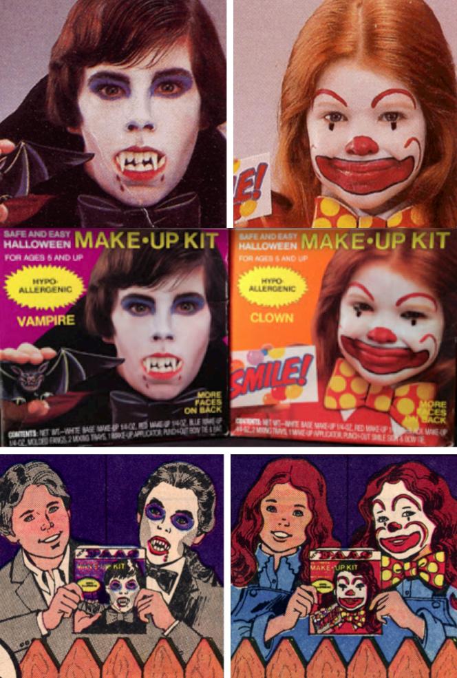 PAAS Halloween makeup kits (1984) | Little Playthings | Pinterest ...