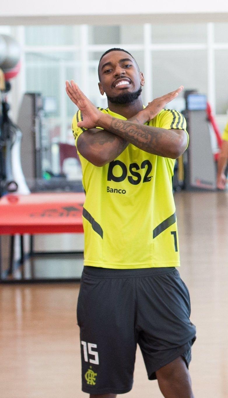 Gerson Flamengo Flamengo 2019 Mengão Fla Wallpaper