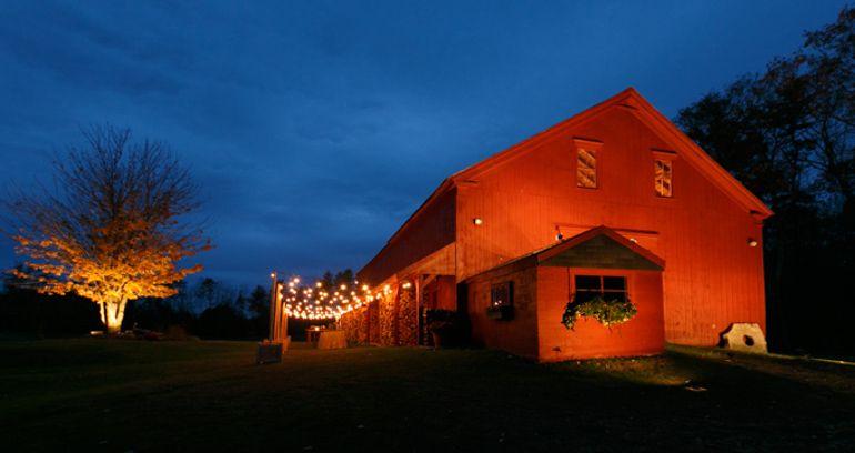 William Allen Farm Maine Barn Wedding Venues Country Venue Rustic Freeport