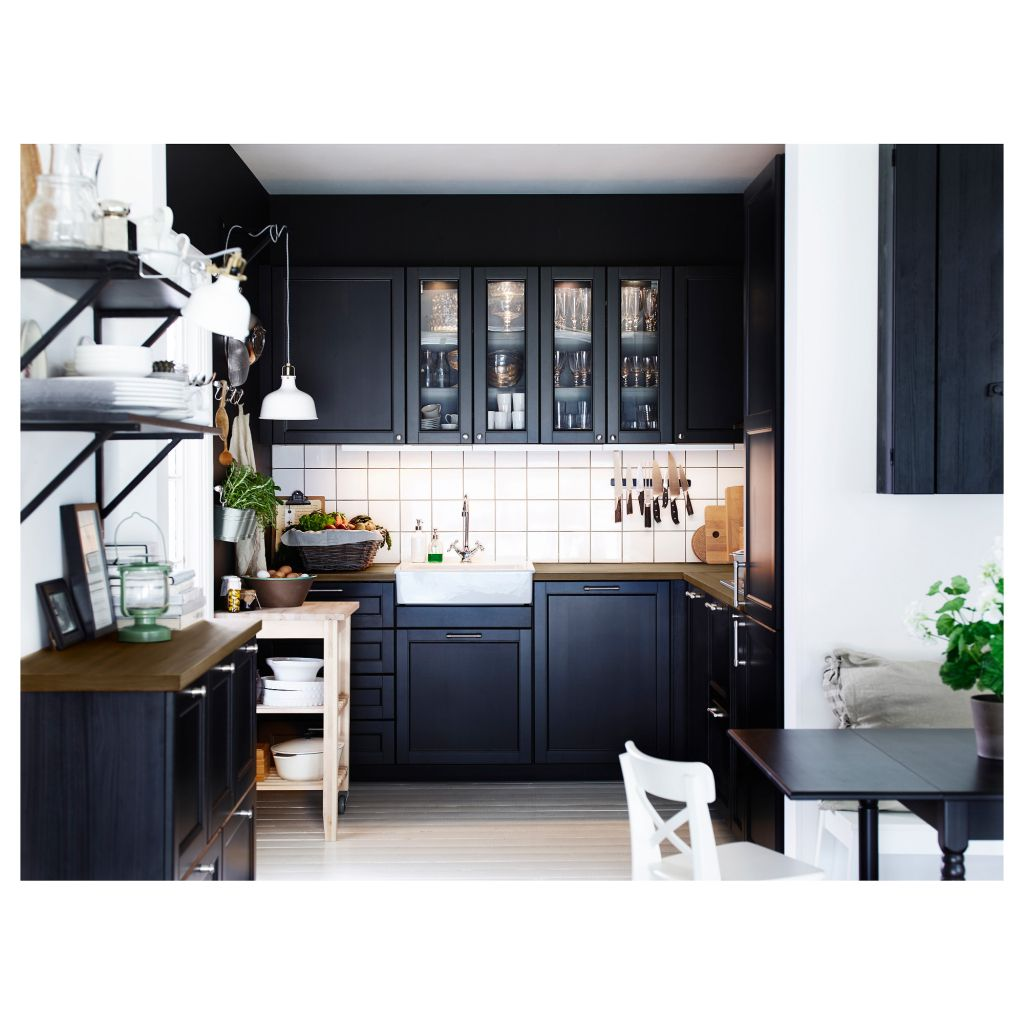 uncategorized awesome cuisine ikea laxarby davaus avis cuisine ikea laxar noir avec des ides. Black Bedroom Furniture Sets. Home Design Ideas