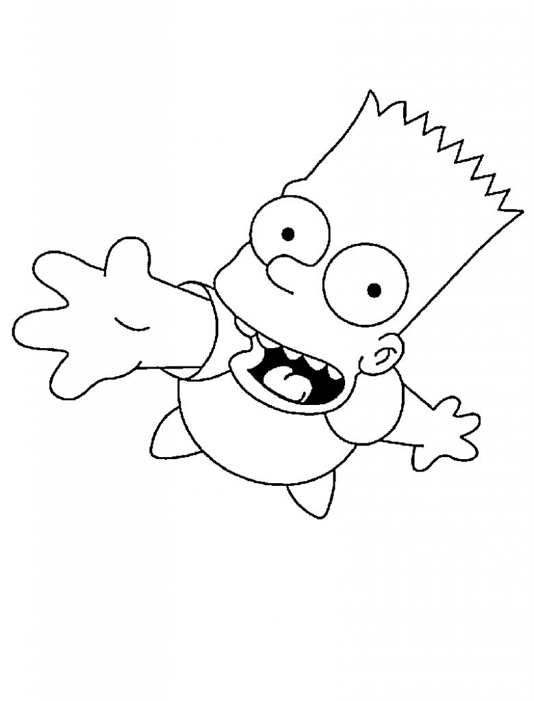 Die Simpsons 32 Ausmalbilder