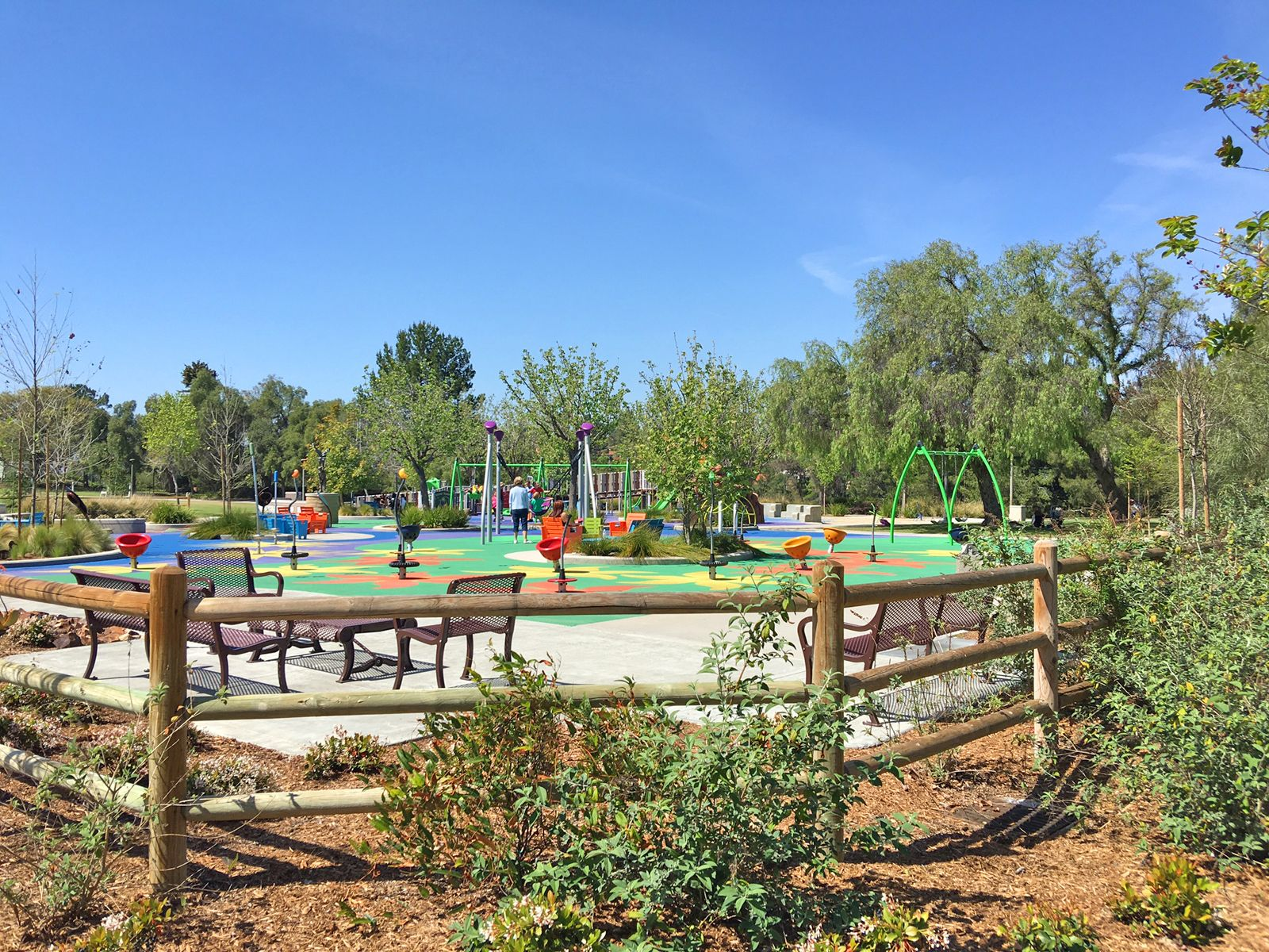 Pavion Park In Mission Viejo Great Park With Lots Of Diverse And