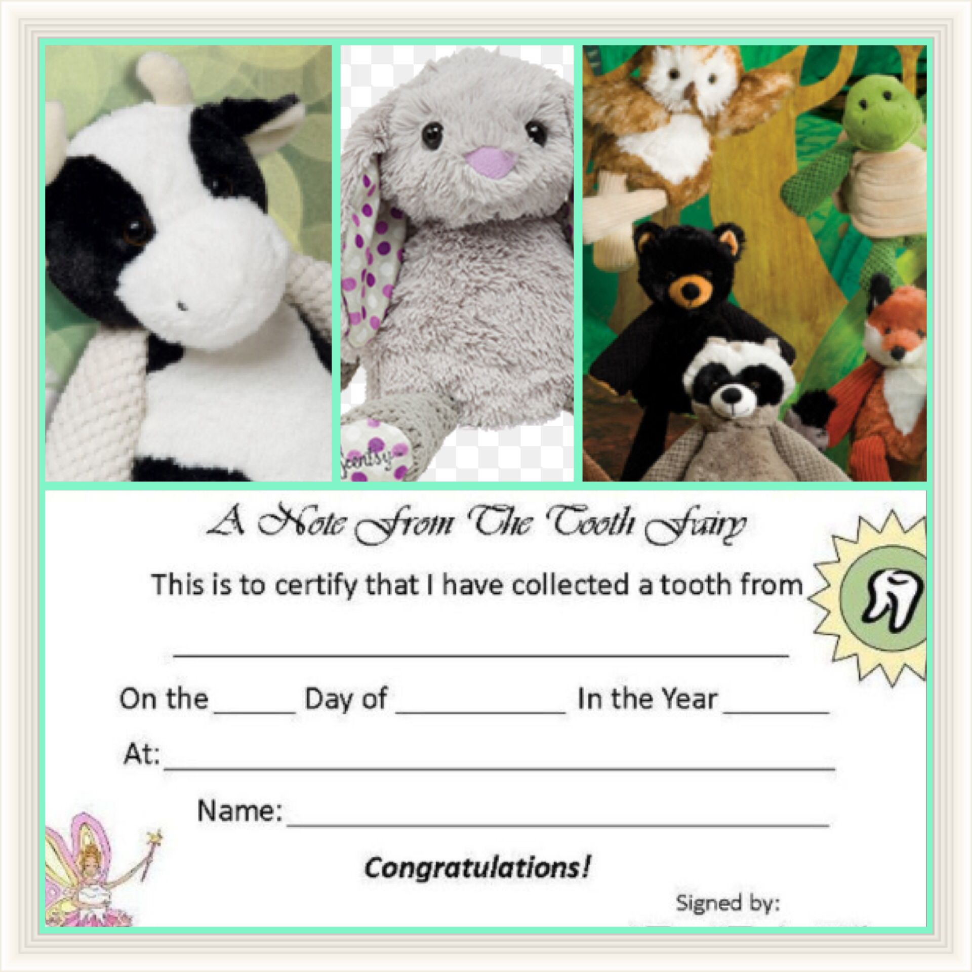 Use your Scentsy Buddy as a tooth keeper for the Tooth Fairy :) www.tarynsallee.scentsy.us