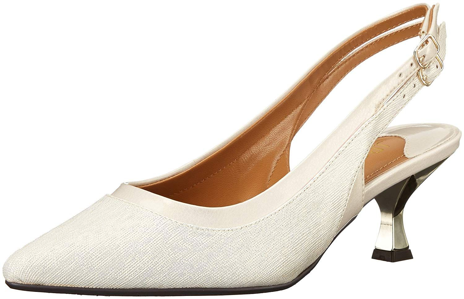 J Renee Women S Kenlie Dress Pump Fresh Contemporary Take On A Classic Silhouette In This Double Strap Low Heel Sli Womens Shoes Pumps Pump Dress Strap Heels