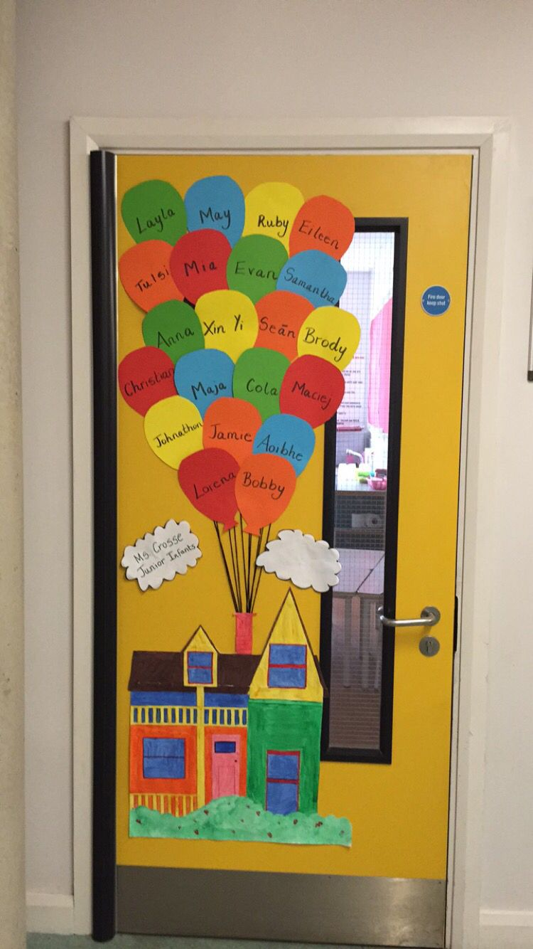 Junior Classroom Ideas : My junior infant classroom door is quot up school displays