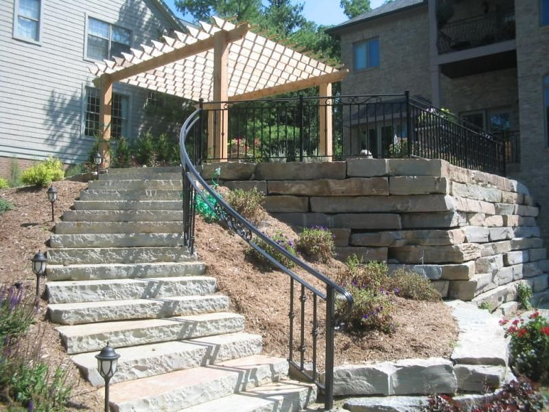 Outdoor Stair Railing Image : Types Of Outdoor Stair Railing .