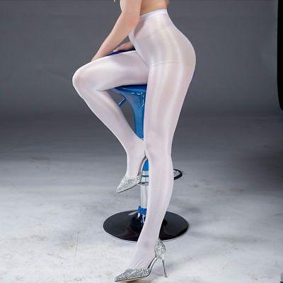 6a64ebabf50 Charm Women High Waist Oil Shine Glossy Shape Body Pantyhose Stocking Tights