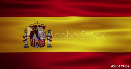 Stock Footage Of Animated Waving National Spain Flag Animation Motion Graphics Useful For Social Media Videos Webs Happy National Day Spain Flag Animation