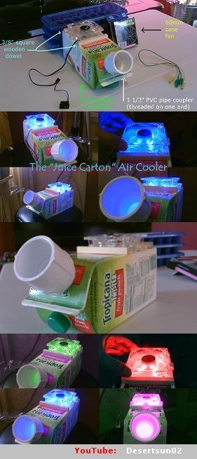 homemade ac cooler