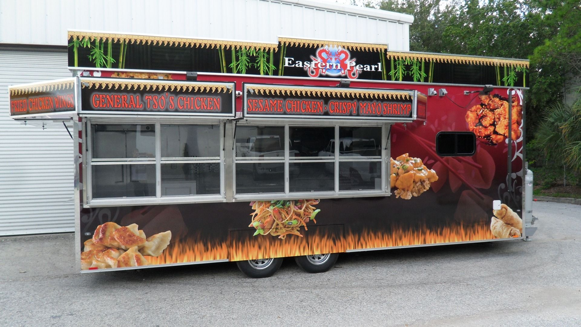 Concession trailer 8 5 x 14 white event custom enclosed kitchen 20341 18 285 00 concession and food trailers pinterest food trailer food truck