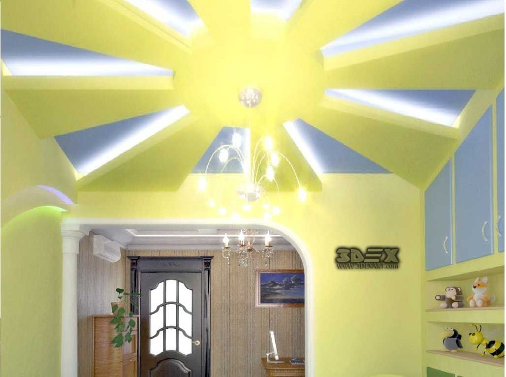 POP false ceiling designs 2018 for hall POP roof ceiling design for ...