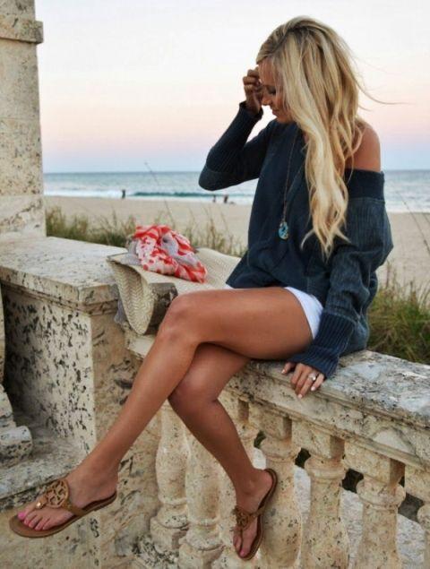 Photo of Look da spiaggia a spalle nude
