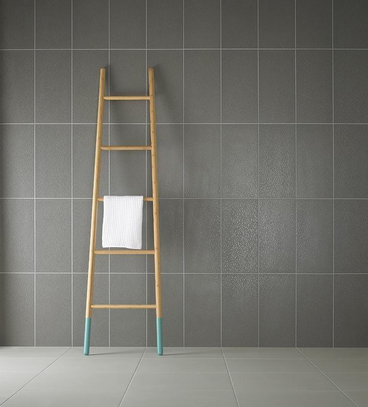 Dusk Grey Tile: Studio Conran Trace Wall Tile Linea Point Decor Dusk Matt