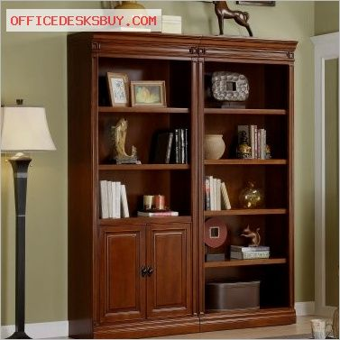 Whalen Augusta Bookcase With Optional Doors