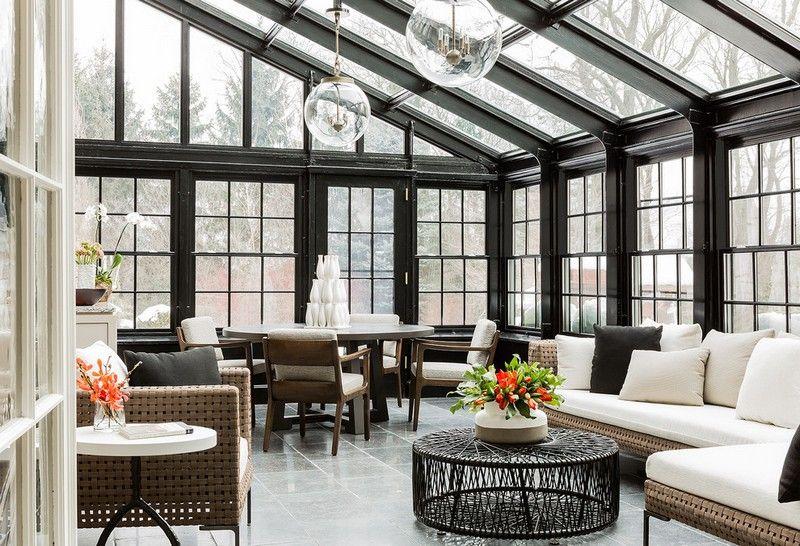 Wintergarten modern einrichten 37 Wohnideen