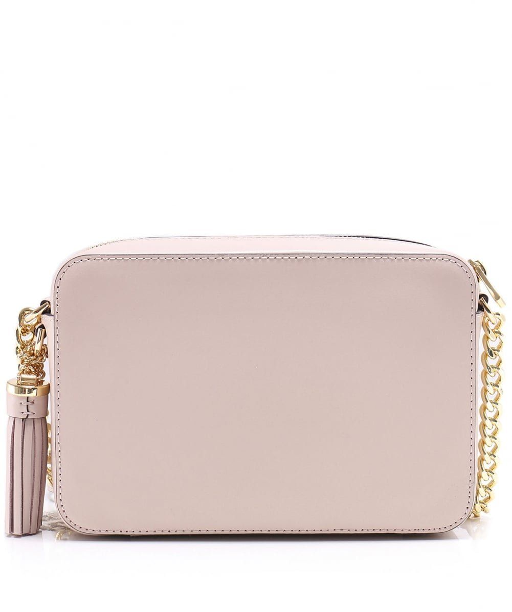 00859ff690a65 MICHAEL Michael Kors Ginny Love Leather Crossbody Bag Soft Pink     Click  on the image for additional details. (This is an affiliate link)   ...