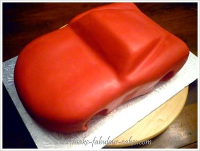 How To Make Lamborghini Car Cake