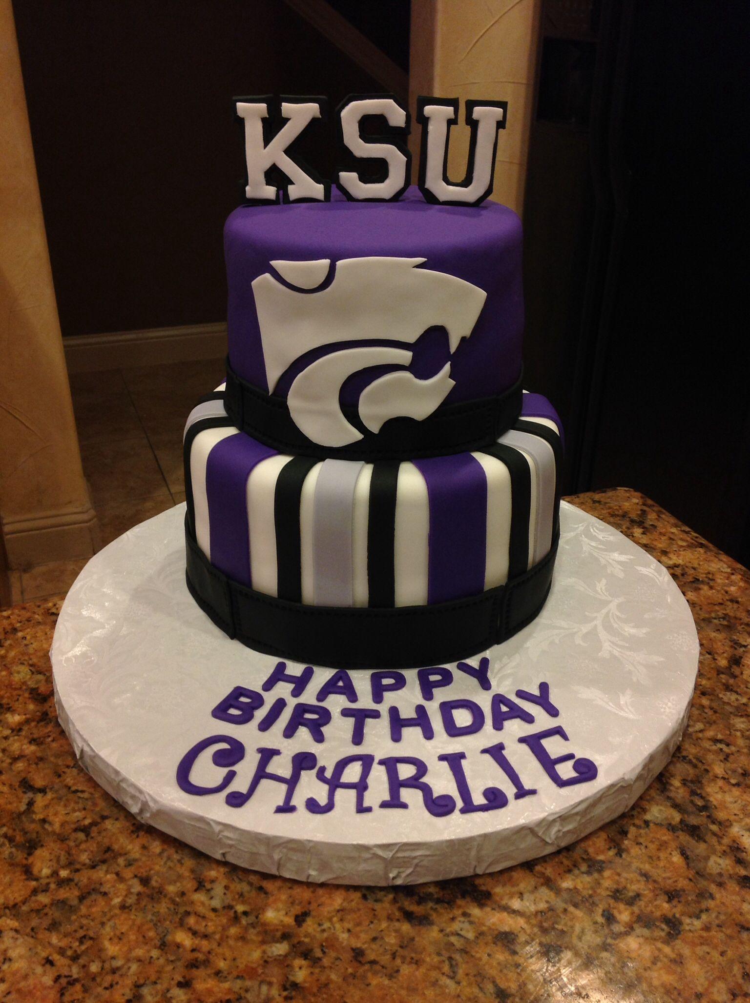 Kansas State University Cake