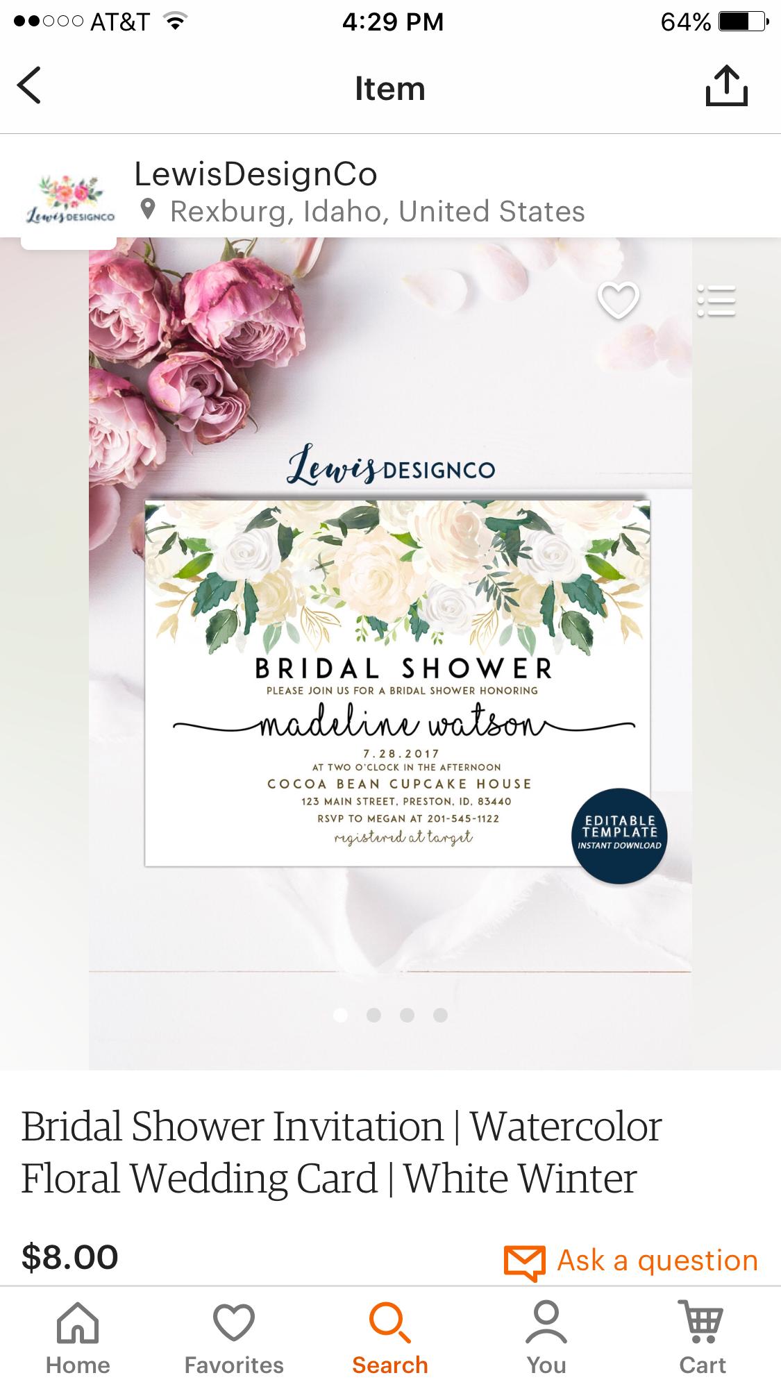 andrea  bridal shower emily lambert  hosted mary gomez